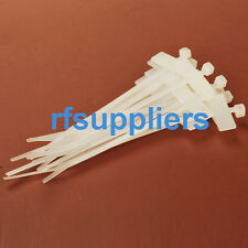 100pcs 2.5*100mm Label tie Network Cable Cord Wire Strap Zip Nylon