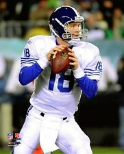PEYTON MANNING in Colts Throwback Jersey uniform LICENSED picture 8x10 photo