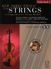 New Directions for Strings Violin Bk 2 & 2 CDs