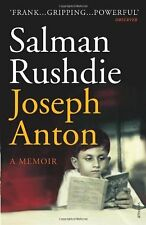 SALMAN RUSHDIE __ JOSEPH ANTON __ BRAND NEW _ FREEPOST UK