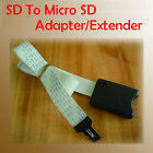 SD To Micro SD Card Extender Cable SDHC SDXC Connection Extender for TV GPS