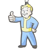 FALLOUT VAULT BOY THUMBS UP AIR FRESHENER CAR VAN TRUCK BOY ROOM LOCKER MAN CAVE