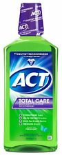 ACT Total Care Anticavity Fluoride Mouthwash Fresh Mint 33.8oz Each
