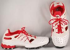 Women's Adidas Climacool White/Red Golf Shoes US 9 UK 7.5 EUR 41 1/3