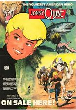 JONNY QUEST COMIC PROMO POSTER JOHNNY QUEST COMIC BOOK