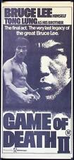 009 GAME OF DEATH 2 Aust daybill '81 Bruce Lee, See Yuen Ng's Si wang ta
