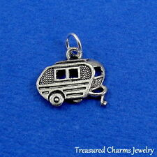 Silver CAMPER RV Camping Trailer Motor Home CHARM PENDANT *NEW*