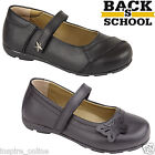 GIRLS BACK TO SCHOOL SHOES GENUINE LEATHER COMFORT KIDS CHILDRENS CASUAL FORMAL