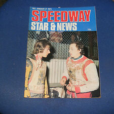 Speedway Star & News Magazine W/E 27th January 1973