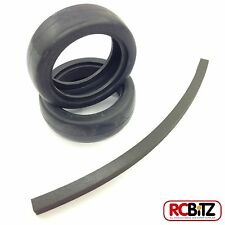 Carisma M14 Front Racing Slick Tyres (2) CA14163 to fit stock wheels glue