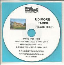 Udimore Parish Registers 1560-2010 CD