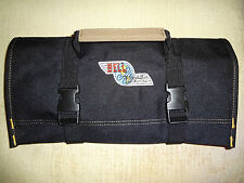 "Bell Helicopter Logo/Bell 47/Bell 204,205,210 Huey""NEW ALL BLACK""  Tool Roll !!"