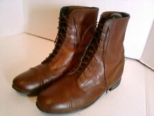 Vintage BILTRITE soles Brown Leather Upper Lace-Up Boots US:7M Made in USA