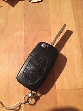 Used Audi Flip Remote Key Fob - Genuine Part - 4D0837231A