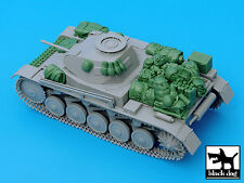 Black Dog 1/35 Panzer II Ausf.C Tank Stowage and Accessories Set (Dragon) T35032