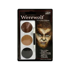 Mehron Werewolf Tri-Colour Face Paint Palette
