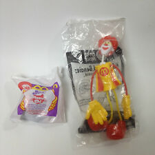 Vintage Mc Donalds Toys - Ronald McDonald & Meow-Chi Pet Unopened
