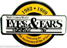 Disney Pin: WDW Cast - Eyes & Ears 30th Anniversary: 1982-1989 (LE 3000)