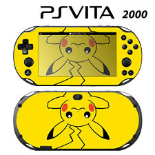 Vinyl Decal Skin Sticker for Sony PS Vita Slim 2000 Pokemon Pikachu 2