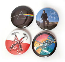 Lot of 4 - Pink Floyd - 1.25in Pins Buttons Badges