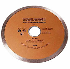 115mm Diamond Cutting Continuous Rim Blade For Ceramic Marble Tile Disc Saw 4.5""
