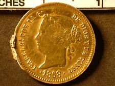 1868 2 Pesos Philippines Gold Coin