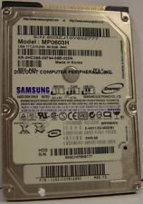 SAMSUNG MP0603H 60GB 2.5 inch IDE Drive 3 Instock Tested Good + Warranty