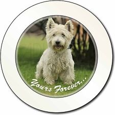 Westie 'Yours Forever'  Car/Van Permit Holder/Tax Disc Gift, AD-W10yT