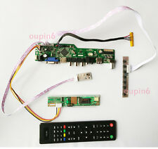 T.VST56 LCD Controller board kit TV HDMI CVBS LVDS RF PC for LCD Panel monitor