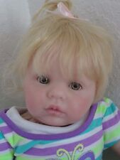 "Reborn 20"" Baby Girl Doll ""Ella Chanel""- Full Legs!-Rubert sculpt-10 days"