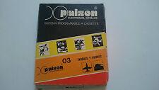 JUEGO 03 TANQUES Y AVIONES PALSON TELE COMPUTER CX 3000 VERSION PAL ESPAÑA.