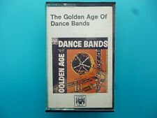 """VARIOUS BANDS  """" THE GOLDEN AGE OF DANCE BANDS """"  CASSETTE"""