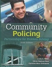 Community Policing: Partnerships for Problem Solving by Miller, Linda S., Hess,