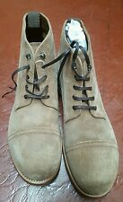 NWB GRENSON CAP TOE ARMY WORK BOOTS DOUBLE LEATHER SOLES BOOTS 11.5