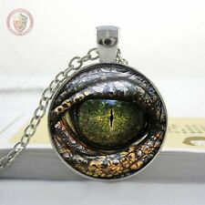 Dragon eye pendant and necklace included