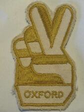 """Oxford"" Football Soccer Club Supporter Sew on Cloth Patch Badge 1970's"