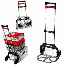 Magna Cart Compact Folding Aluminium Hand Truck Trolley Luggage Cart Foldable