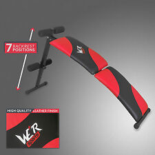 Foldable Sit Up Bench Abdominal Ab Crunch Weight Bench Home Gym Fitness Exercise