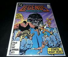 First 1st Appearance of AMANDA WALLER Legends#1 DC Comics 1986 SUICIDE SQUAD