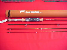 Ross Graphite Fly Rod Model RX 9 Ft 4 Piece #8 Line with Case GREAT NEW
