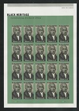 2016 #5056a Imperf Richard Allen Pane of 20 Mint without Die Cuts Black Heritage