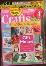 Crafts Beautiful Free Gift Book Beginner Paper Flowers Aug 2015 FREE SHIPPING!
