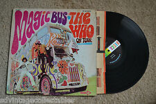 THE WHO Magic Bus On Tour original RECORD LP VG