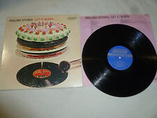 THE ROLLING STONES RECORD LET IT BLEED ALBUM COC NPS-4 LONDON RECORDS VINYL LP