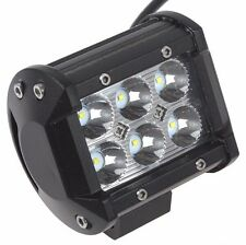 18W 12V Cree LED Work Light Offroad Car LED WorkLamp Tractor Truck SUV ATV Flood