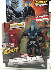 Marvel Legends GHOST RIDER Blue Variant Hasbro TERRAX Series~ High Grade Package