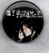 MY CHEMICAL ROMANCE BUTTON BADGE - AMERICAN ROCK BAND 25mm THE BLACK PARADE