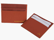 Mandarina Duck Creditcard Holder, Kreditkartenetui, Orange, Work Bag, Cardholder
