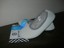 ISOTONER WOMEN'S SLIPPERS USA MEMORY FOAM ALL AROUND EU SIZE 37-38 / UK SIZE 4-5