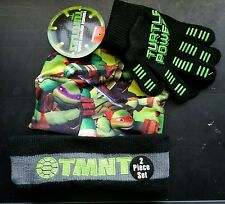 Teenage Mutant Ninja Turtles 2 Piece Hat & Glove Set Child One Size